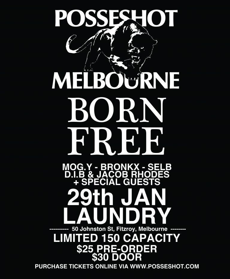 POSSESHOT X BORN FREE TICKET