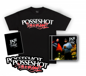 PSIII : Still In Tha Game CD/T-Shirt Pre-Order Pack